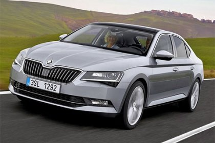 Škoda Superb 2.0 TDI/110 kW Ambition